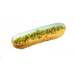 Eclair pistache/kirsch patisseries Paris